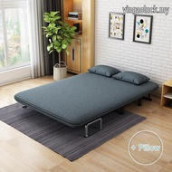 Multi-function Folding Sofa Bed/ Foldable Bed Living Room Fabric Washable Double Single Dual-use Folding Bed