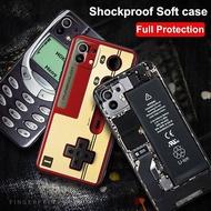 Shell For Xiaomi Mi 11 Pro Case Retro Phone Painted Soft TPU Phone Case For Xiaomi Mi11 Pro Mi11Pro cases For Xiaomi Mi 11 Mi11