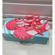 全新現貨melissa Vivienne Westwood 桃紅涼鞋