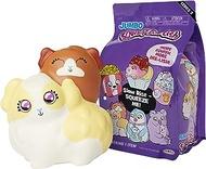 Squishy Jumbo Toy, Squish-Dee-Lish Squishies - Slow Rising Guinea Pig W/Baby, Soft Kids Squishy Toys