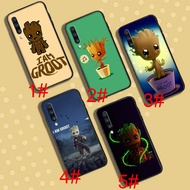 A-12 Baby Groot Soft Case三星Galaxy A10 A30 A40 A50 A70 A9 A8
