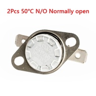 2pcs,KSD301 Temperature N/O NO Normally Open Conrolled Cotrol Switch 50C 122F