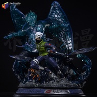 ✹►✳火影忍者 gk 大須佐能乎完全體 卡卡西 佐助 手辦 模型 擺件 雕像