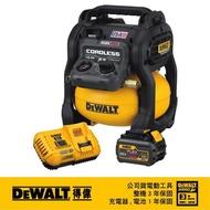 【DEWALT 得偉】美國 得偉 DEWALT 60Vmax 無碳刷無油式空壓機 單電池 DCC2560T1(DCC2560T1)