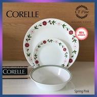 Corelle 18pc Dinnerware Set Livingware [Spring Pink] /// Elegant Classy Colourful Plate Pinggan Bowl Mangkuk