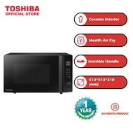 [Toshiba] 26L Air Fryer + Grill + Convection + Microwave Oven  [MV-TC26TF(BK)]
