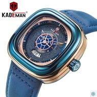 KADEMAN 9030 NEW Square Watch Waterproof Original Men Luxury Sport Watches Fashion Wristwatches