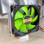 雙銅管散熱器CPU Heatsink Cooler,適合Intel和AMD CPU CPU,電腦超頻必備,CPU處理器用
