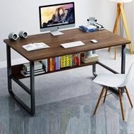 【H&C  U型鋼工作桌 140*60】快速組裝/大空間/桌下書架/加厚板材(電腦桌/辦公桌/書桌/桌子/工作桌)