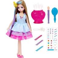 【Fun心玩】LA85311 麗嬰 正版 TOMY 多美 LICCA 莉卡娃娃 繽紛化妝小翼娃娃 服飾 配件 扮家家酒