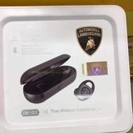 藍寶堅尼TWS真無線藍芽耳機、全新集團貨、盒況好、現貨依照蝦皮庫存。