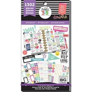 Create 365 The Happy Planner Student Edition Value Pack 1302 Stickers, Fri Yay