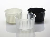 布丁燒、布丁杯、烤布丁、PP杯、耐熱杯 - 波紋杯B7440、MY7440 (含透明蓋)20pcs