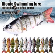 ✿BM✦ 1/3/5 Pcs Bionic Swimming Lure Fishing Bait 10cm Accessories for All Kinds of Fish