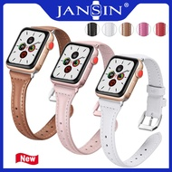 Leather Band Loop Strap For Apple Watch Series 5 4 3 2 1 Band 38mm 40mm 42mm 44mm สายหนัง