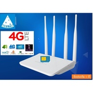 4G Router เราเตอร์ ใส่ Sim 4 เสา รองรับ 4G,3G  ,CAT 4 รองรับการใช้งาน Wifi ได้สูงสุด 32 users