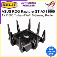 ASUS ROG Rapture GT-AX11000 AX11000 Tri-band WiFi 6 Gaming Router [Selit Trading]
