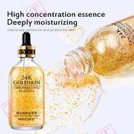 【KTE】 HIISEES 30ML 24k Gold Essence Shrinks Pores Women Hyaluronic Acid Moisturizing Hydrating Fluids Serum & Essence Nicotinamide essence