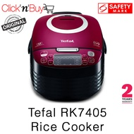 Tefal RK7405 Rice Cooker. Spherical Pot. 1.5 L Capacity. LED Control Panel. Safety Mark Approved. 2 Year Warranty
