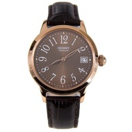 ORIENT Automatic Leather Ladies Analog Watch AC06001T