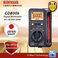 SANWA CD800b digital multimeter, true rms multimeter data lock on and off buzz automatic power saving
