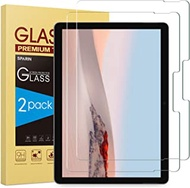 SPARIN [2-Pack] Screen Protector Compatible with Microsoft Surface Go 2/Surface Go, Tempered Glass, High Responsive, Scratch Resistant