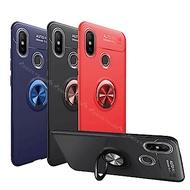 紅米Note 6 Pro 360度磁吸 炫彩指環支架手機殼 抗摔保護殼