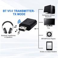 Wireless Bluetooth 5.0 Transmitter Receiver 2-in-1 USB Wireless Bluetooth Audio