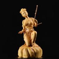 CCZHIDAO Orient Classical Chinese Fiddle Erhu Girl Beauty Women Statue