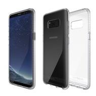 Tech21 英國抗衝擊 Pure Clear Samsung S8+ 防撞硬式清透保護殼(5055517376082)