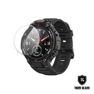 T.G 華米 Amazfit T-Rex 鋼化玻璃保護貼-滿版(華米專用 手錶保護貼 手錶鋼化膜)
