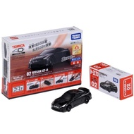 【TOMICA】4D 小汽車 02 日產 GT-R Black(小汽車)