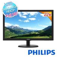 PHILIPS 飛利浦 223V5LSB2 22型 LED 寬電腦螢幕