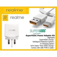 OPPO Realme 65W CHARGER SUPER FLASH CHARGING for X50 Pro With Type C CABLE