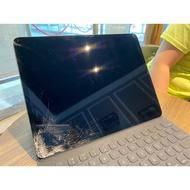 二手 iPad Pro 第三代 12.9吋 3rd 64g WiFi+行動網路 螢幕破損