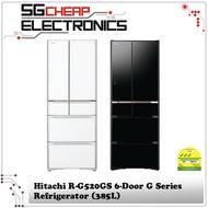 Hitachi R-G520GS 6-Door G Series Refrigerator (385L)