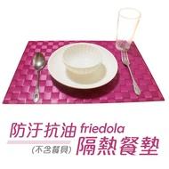 德國【Friedola】防汙抗油隔熱餐墊(4入)