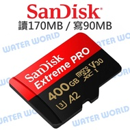 The Whole Nova - Water World Sandisk Micro Extreme Pro A2 400g