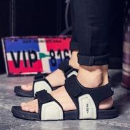 涼鞋 拖鞋男一字拖涼拖鞋2019夏季涼鞋男防滑沙灘拖鞋個性潮男潮鞋夏天 3色39-44
