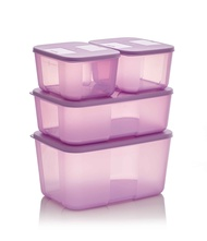 Toples Dapur Tupperware - Tempat Makanan Bumbu Dapur Tupperware Set - Freezermate Set Tupperware