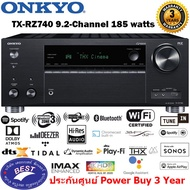 Onkyo TX-RZ740 9.2 Channel A/V Receiver