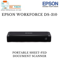 [$20 NTUC E-VOUCHER REDEEM] Epson WorkForce DS-310 Portable Sheetfed Document Scanner DS310 310