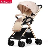 belecoo貝麗可嬰兒推車可坐可躺輕便摺疊避震小BB手推傘車0-3歲QM『櫻花小屋』