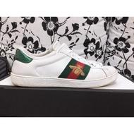 出售二手 [Gucci蜜蜂小白鞋]保證正品 不正包退