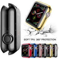 TPU Watch Cover case For Apple Watch series 6 SE 5 4 40mm 44mm .Slim case Protector for i Watch  3 2 1 42mm 38mm
