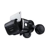 VR SHINECON 眼鏡千幻6代3.5mm耳機版 多功能VR眼鏡 頭戴式虛擬實境 4.7吋-6吋可用