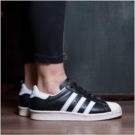 Adidas Originals Superstar 80s 黑白 金標 奶油底 男女 G61069