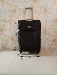 กระเป๋าเดินทางแบบผ้าขนาด 24นิ้ว#กระเป๋าเดินทางล้อลากผ้า