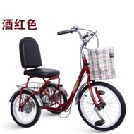 Human manpower tricycle elderly leisure scooter adult foot outside the eight-word small fitness bike