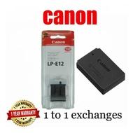 Canon LP-E12 original battery for Canon Eos M / Eos 100d